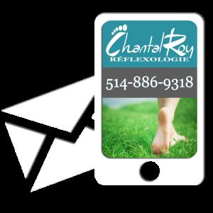 Réflexologie Chantal Roy traitement des pieds et des mains, 514-886-9318